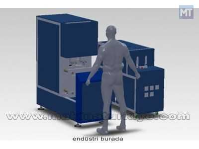 Pet Şişe Şişirme Makinası ( 1000 Şişe/ Saat )