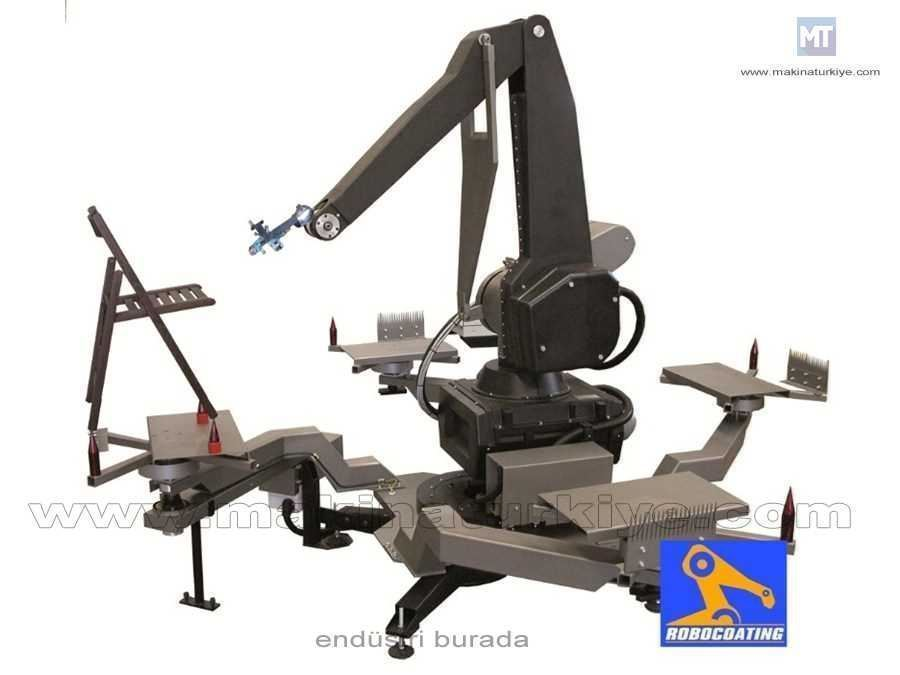 Sandalye Ve Koltuk Boyama Robot Sistem