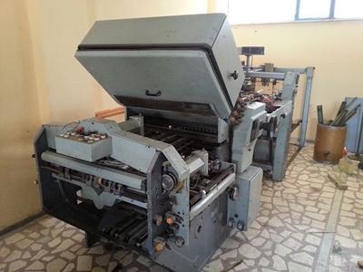 Kağıt Katlama Makinası ( 78 X 106 Cm )