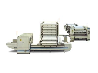 Laminasyonlu Tuvalet Kağıdı Makinası 1350 Mm