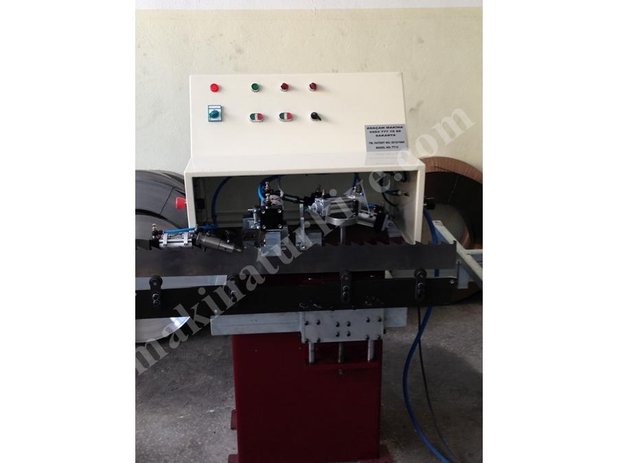 Şerit Testere Ezme Çapraz ve Toplama Makinası