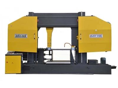 Yarı Otomatik Sütunlu Şerit Testere Makinesi Beka-Mak (BMSY-1110C)
