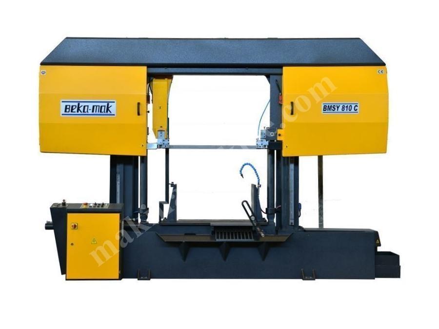 Yarı Otomatik Sütunlu Şerit Testere Makinesi Beka-Mak (BMSY-810C)