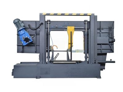 Yarı Otomatik Sütunlu Şerit Testere Makinesi Beka-Mak (BMSY-820C)