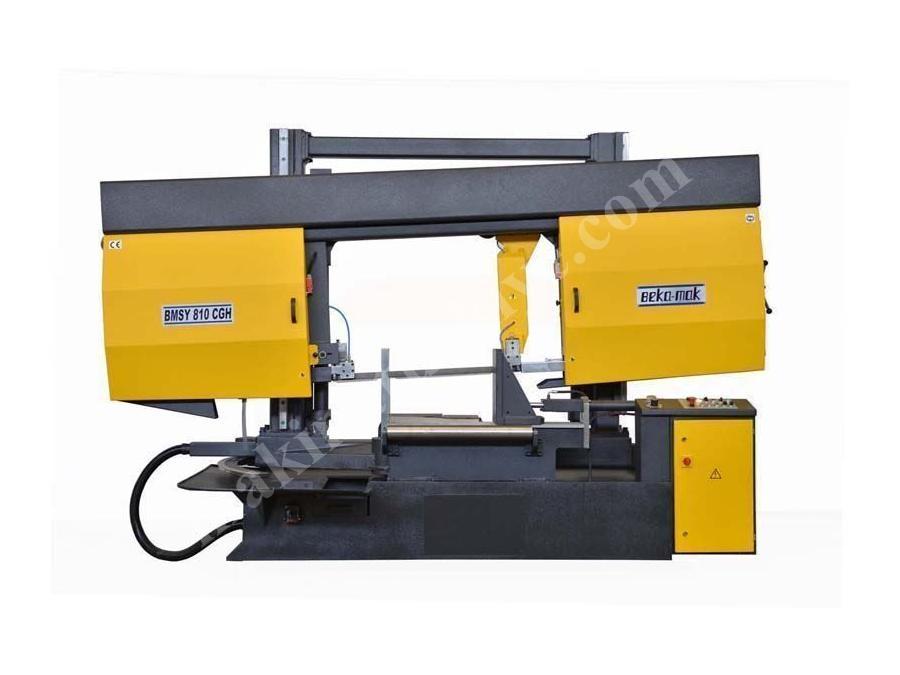 Yarı Otomatik Açılı Kesim Sütunlu Şerit Testere Makinesi Beka-Mak (BMSY-810CGH)