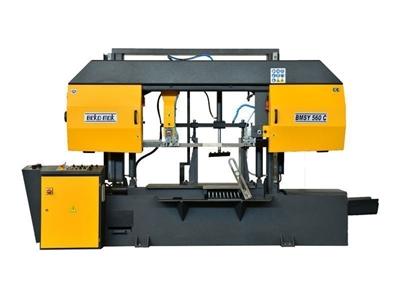 Yarı Otomatik Sütunlu Şerit Testere Makinesi Beka-Mak (BMSY-560C)