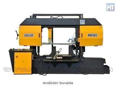 Tam Otomatik Sütunlu Şerit Testere Makinesi Beka-Mak (BMSO-560C)