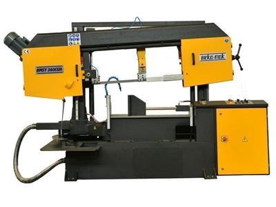 Yarı Otomatik Açılı Kesim Sütunlu Şerit Testere Makinesi Beka-Mak (BMSY-360CGH)