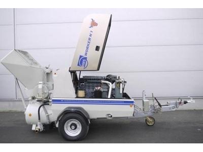 Kepçeli Şap Makinası - Kepçeli BMS Worker No1 Powerpull