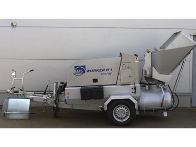 Şap Makinası - Elektrikli   Worker No1 Energy