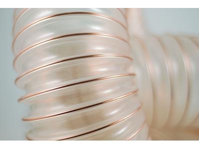 Tpu Ve Pvc Çelik Ve Bakır Telli Spiral Emiş Hortumları