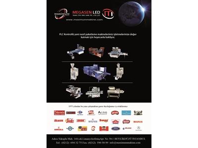 Manuel Photocell System Ambalaj Makinası