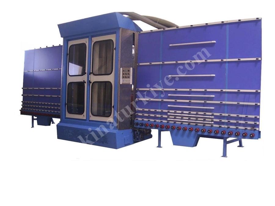 1700X4 Cam Yıkama Makinası