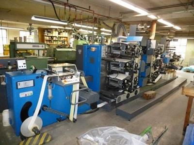 Gallus R 200 B Etiket Baskı Makinesi