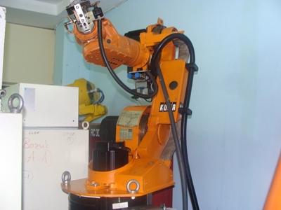 Yükleme Boşaltma Ve Montaj Robotu Kuka Robot