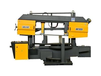 Yarı Otomatik Çift Açılı Şerit Testere Makinesi Beka-Mak (BMSY-560 DG)