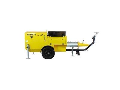 Hazır Yaş Şap Makinası 18 m3/saat Ase Evp 18 Fc