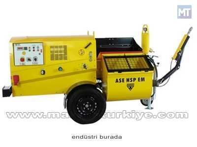 Pistonlu Sıva Ve Şap Makinası 10-150 Lt/dk Ase Hsp EM