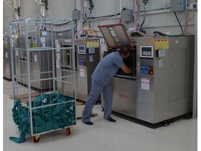 44 Kg/Sefer Endüstriyel Çamaşır Yıkama Makinası - Hijyen Bariyerl