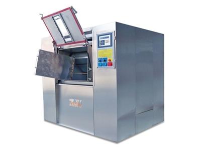 100 Kg/Sefer Endüstriyel Çamaşır Yıkama Makinası - Hijyen Bariyerl