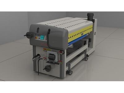 Merdane Sistemi ile Astar ve UV Lak Sürme Makinası