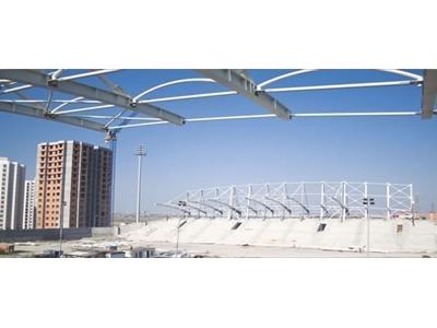 Stadyum Cıvatalı Çelik Konstrüksiyon
