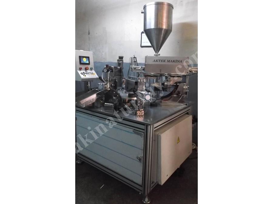 Ultrasonik Yapıştırmalı Tüp Dolum Makinası