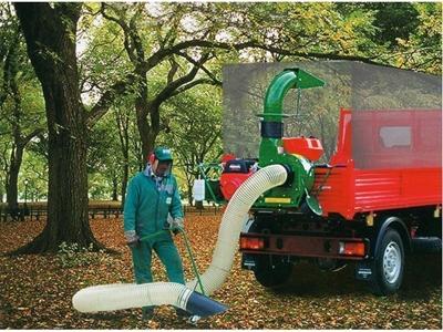 Yaprak Toplama Makinası