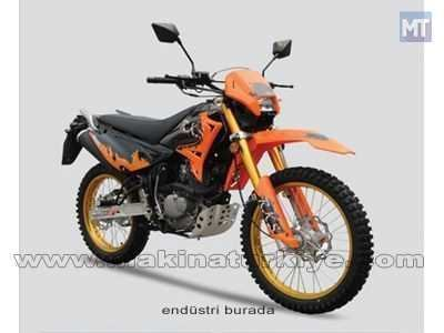 200 Cc Cross Motosiklet