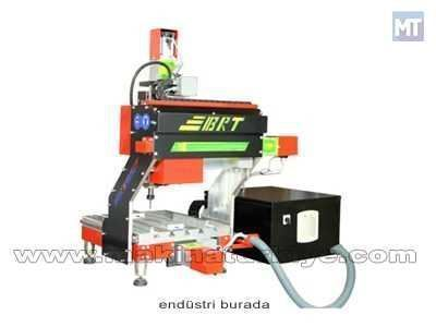 3 Eksenli Ahşap İşleme Cnc Makinesi