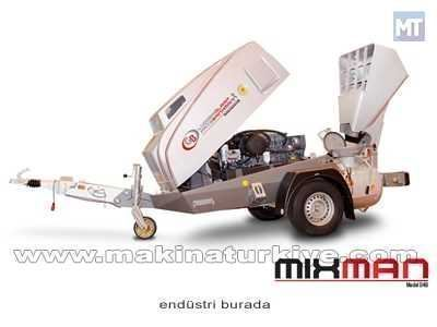 3 Silindir Deutz Dizel Motor Kepçeli Şap Makinası
