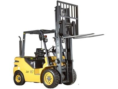 2500 Kg Kaldırma Kapasiteli Dizel Forklift
