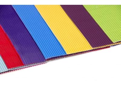 Renkli Ondüle Kağıtlar
