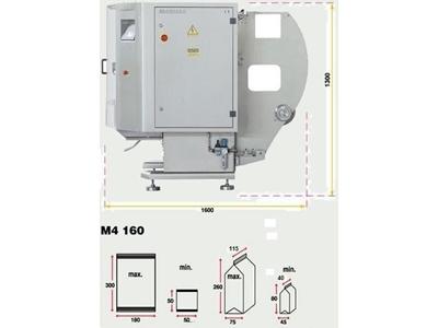 Dikey Paketleme Makinesi - Poşet Boyu: Min 50 Max 160 Mm