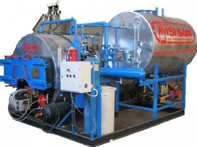 Sıvı Ve Gaz Yakıtlı Paket Buhar Kazanı
