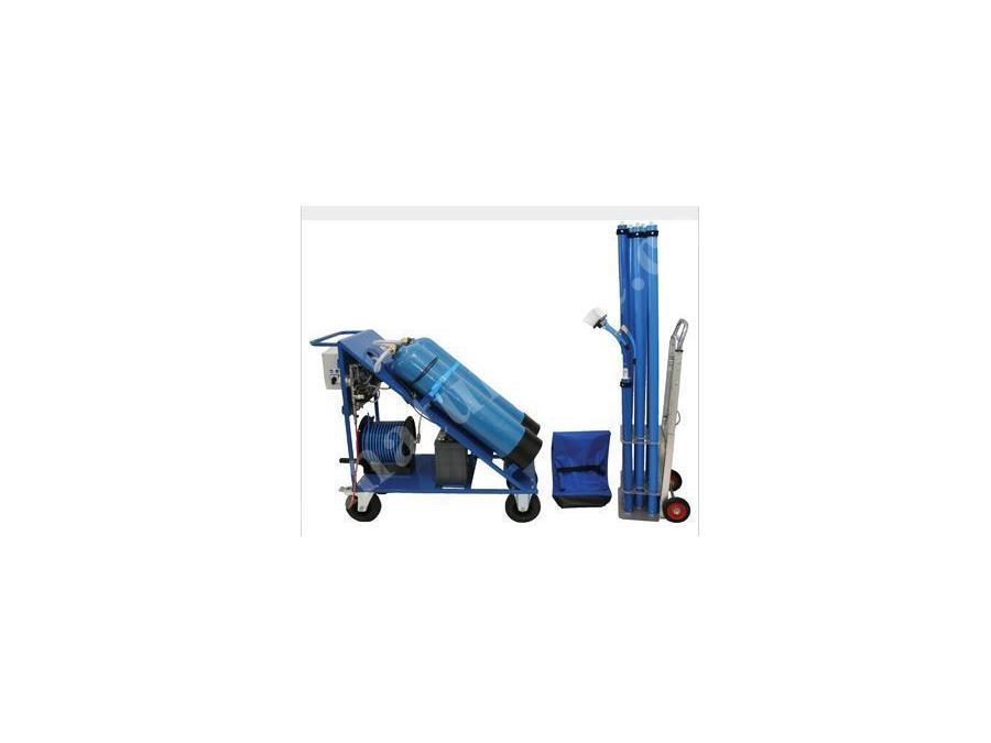 Teleskopik Dış Cephe Temizleme Makinası