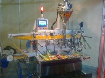 Meyva Tozu Dolum Makinası - Yatay Toz Dolum Ve Paketleme Makinesi