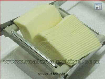 Peynir, Salam Ve Yumuşak Gıda Dilimleme Makinası
