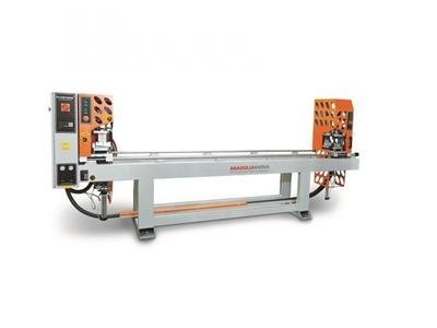 S.Ç 100 Pvc Çift Köşe Kaynak Makinası 0,2 Mm