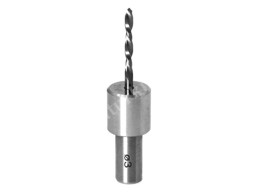 Çap:3 mm Adaptörlü Matkap Ucu