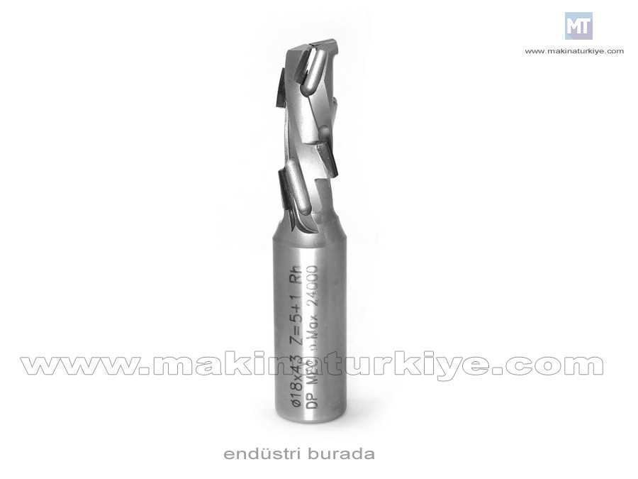 Dıa 18X43 Mm Cnc Ebatlama Freze Bıçağı