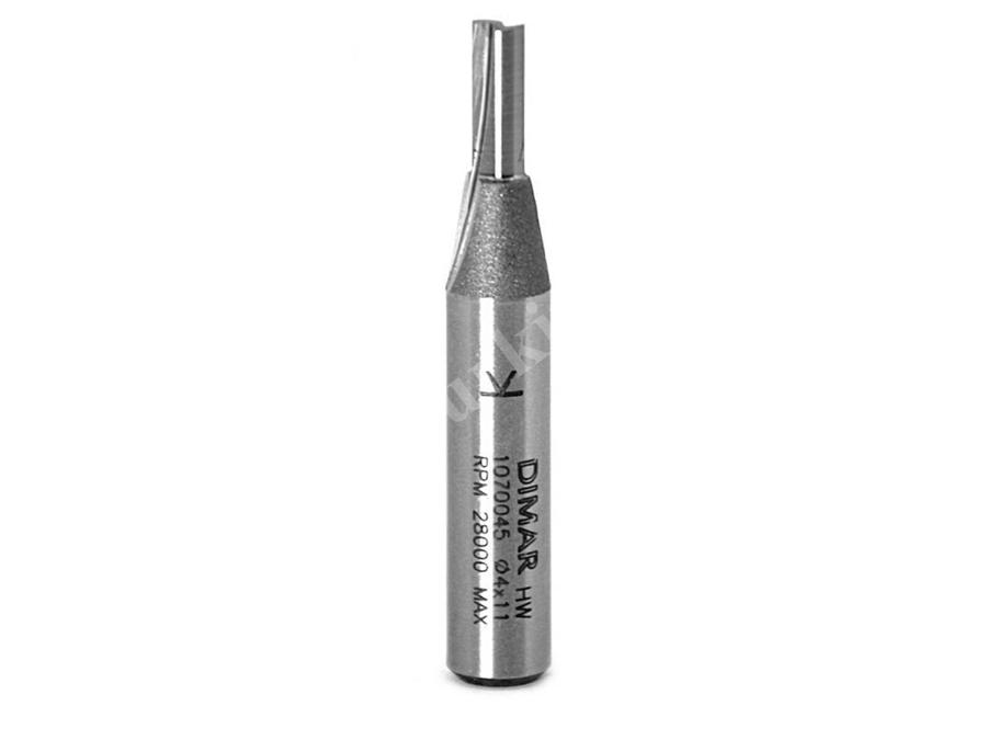 4X11x8mm Kaynaklı Freze Bıçağı