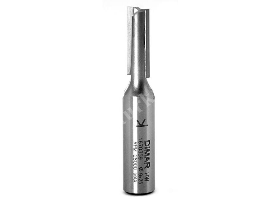 9X25x12 Mm Kaynaklı Freze Bıçağı