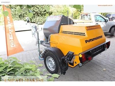 Putzmeister P13 EMR Kara Sıva Makinası