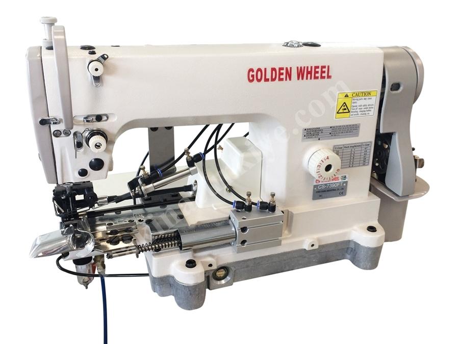 Elektronik Büyük Mekikli Paça Kıvırma Makinası (Kot)