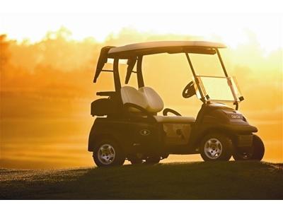 Benzinli Golf Arabası Kawasaki Motor - 10,4 Hp