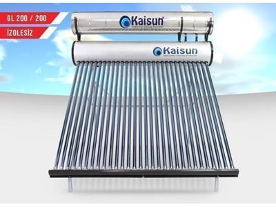 Güneş Enerjisi Sistemi İzolesiz - 200 Lt