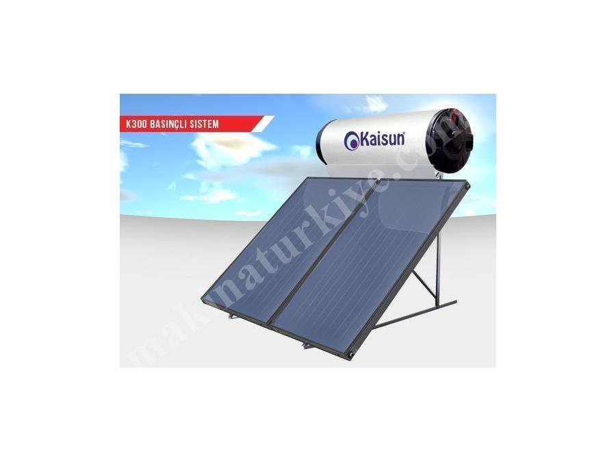 Kollektörlü Güneş Enerjisi Sistemi - 300 Lt