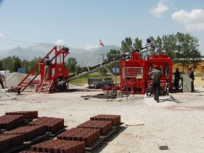 BPM 18 Beton Parke Bordür Ve Briket Makinası