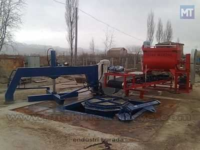 Beton Boru Makinası